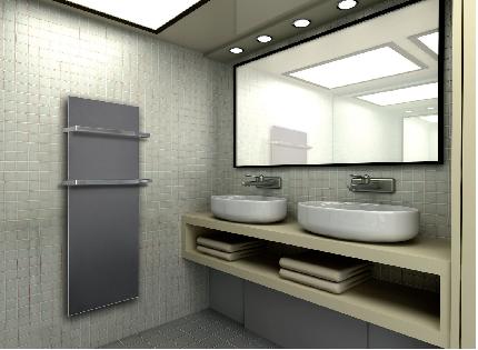 Ceramic radiatori elettrici in ceramica ath energia for Portasalviette bagno design