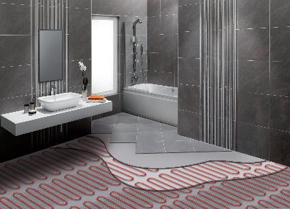 Cavi e tappeti scaldanti per posa a umido ath energia - Riscaldamento per bagno ...